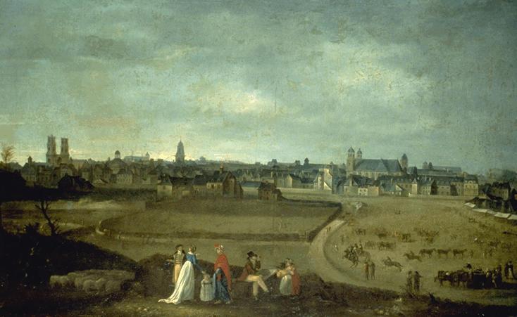 Vue de Rennes, prise du Champ-de-Mars par Jean Loyer