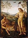 Apollon et Marsyas / Pérugin - vers 1495-1500