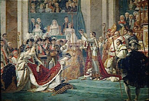 Coronation of the Emperor Napoleon and the Empress Josephine