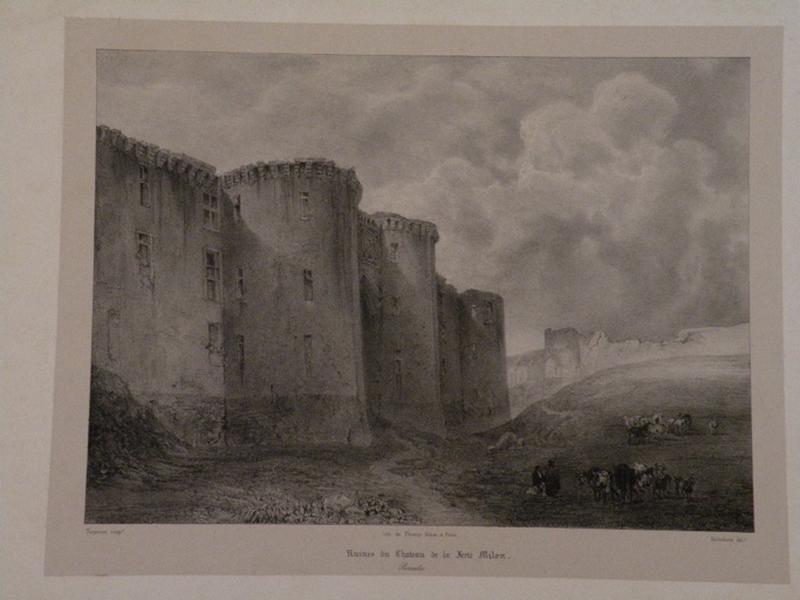 Vue du château de la Ferte-Milon