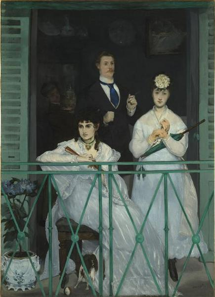 Edouard Manet's painting The Balcony