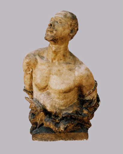 ETCHETO François, L'Esclavage, 1880, plâtre moulé, Pau, musée des beaux-arts, © SEGURA
