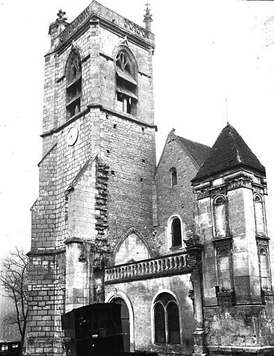 Photo de Clocher du monument Eglise Irancy