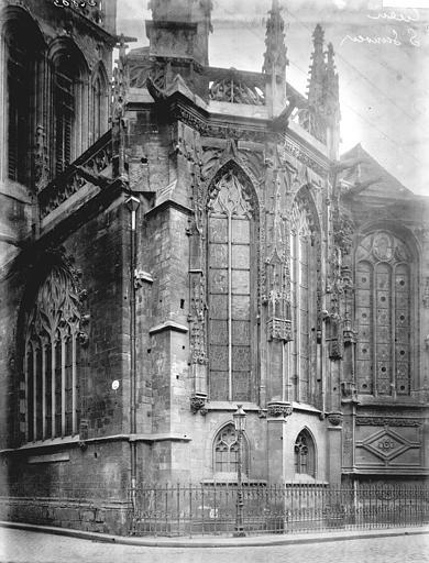 Photo de Abside du monument Eglise Notre-Dame-de-Froide-Rue (ancienne) ou Eglise Saint-Sauveur (actuelle) Caen