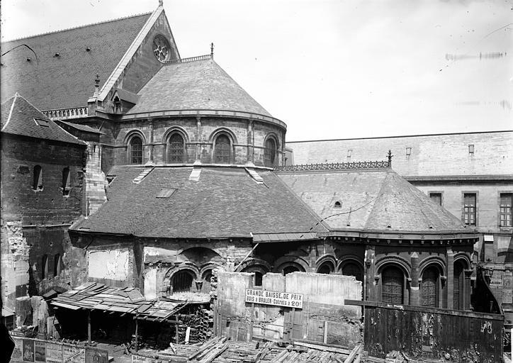 Photo de Abside, au sud du monument Eglise Saint-Martin-des-Champs Paris