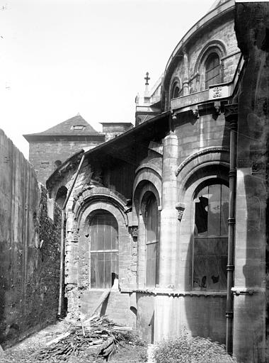 Photo de Abside, détail du monument Eglise Saint-Martin-des-Champs Paris