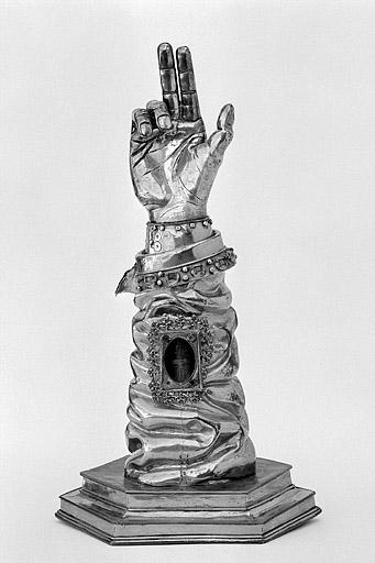 Bras-reliquaire de saint Lupicin, fin 15eme s