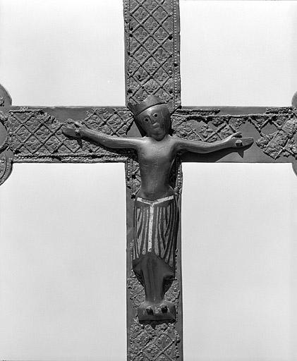 Christ en gloire, eglise Saint-Lupicin, 13eme siecle