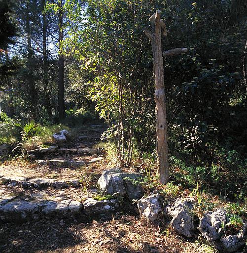 jardin d'agrément de la maison de villégiature dite villa des Palmiers ou du Plantier