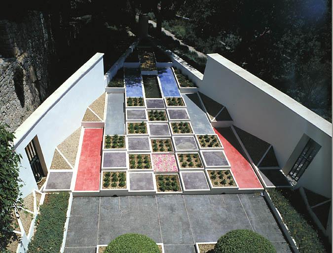 Jardin D 39 Agr Ment Cubiste Du Clos Saint Bernard Ou Villa