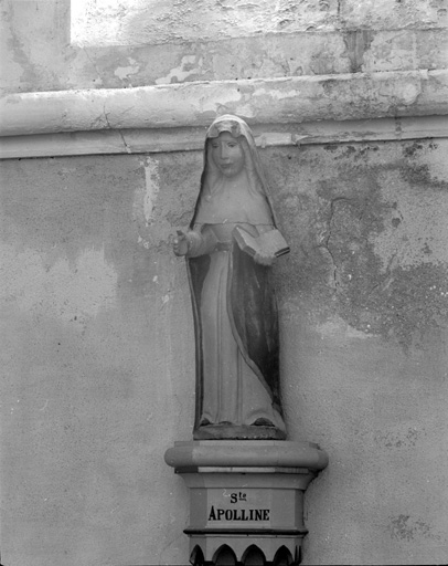 statuette : Sainte Apolline
