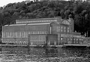 centrale thermique de Dieppedalle, actuellement magasin industriel EDF