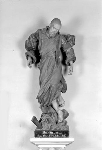 statue (petite nature) : Bienheureux Jean Gabriel Perboyre