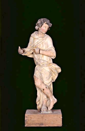 statue d'ange : saint Jean-Baptiste