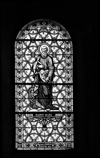 verrière (baie 3) : saint Marc