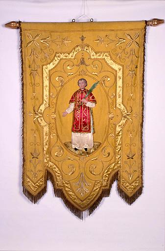 bannière de procession : saint Vincent