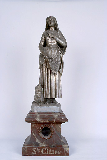 reliquaire : sainte Claire
