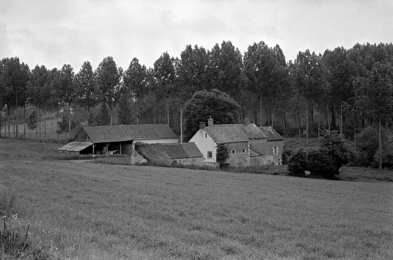 moulin à eau, actuellement maison