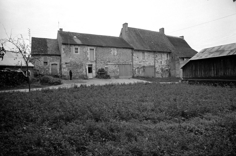 prieuré Saint-Bibien, actuellement maison