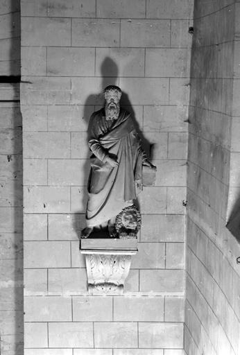ensemble de 4 statues : Les Evangélistes