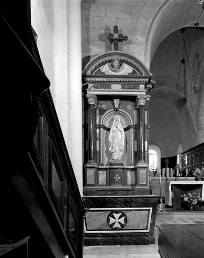 ensemble de 2 autels-retables