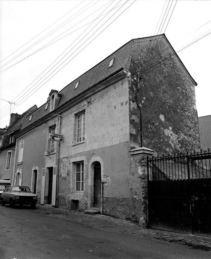 moulin à foulon, moulin à eau dit moulin de la Chaussée, actuellement maison