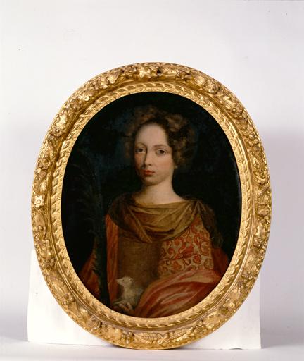 tableau : Sainte Agnès