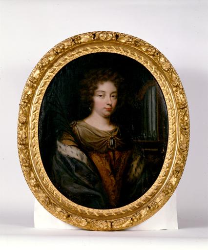 tableau : Sainte Cécile, sous les traits de Jeanne Pélagie de Rohan
