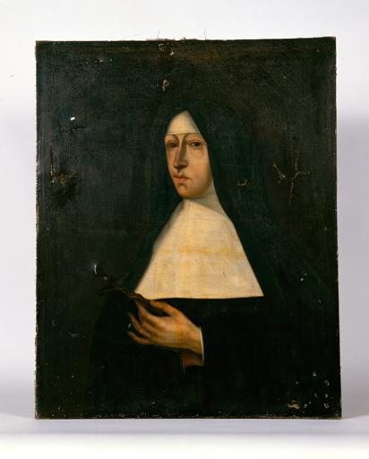 tabbleau : Portrait de Soeur Anne Aubert de Cléronée