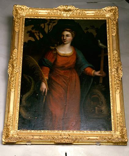 tableau : Sainte Marguerite d'Antioche