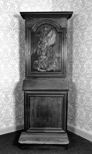 prrie-Dieu ; armoire n° 2