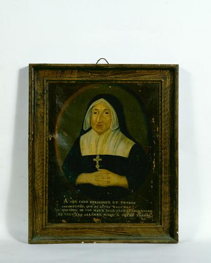 tableau : Portrait de Melle de la Girouardière