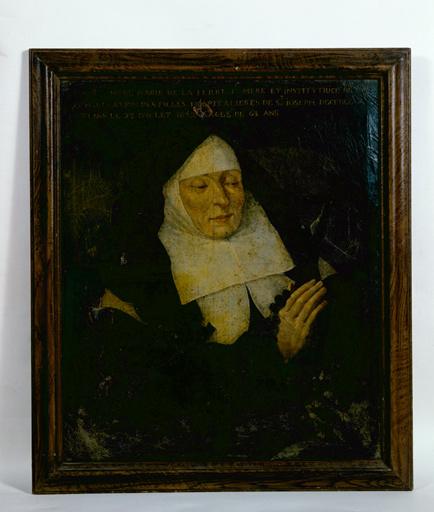 tabbleau : Portrait de Marie de la Ferre (n°1)