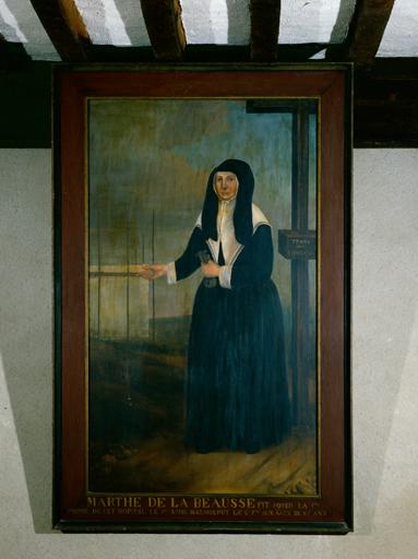 tableau : Portrait de Marthe de la Beausse (n°1)