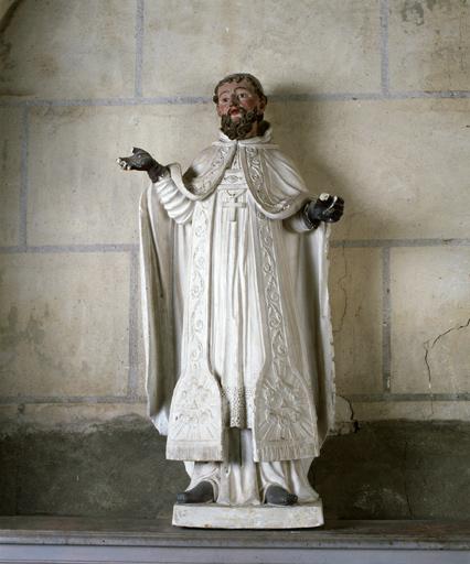 statue : saint Evroult