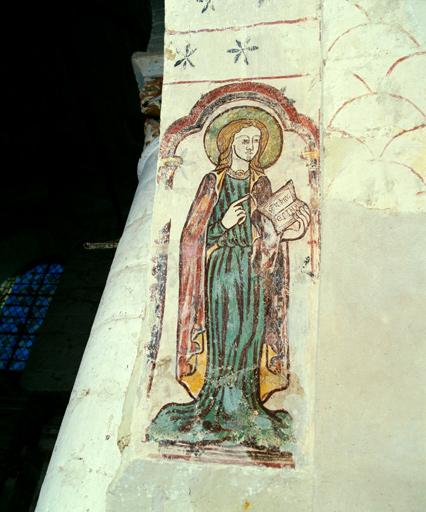 peinture monumentale : Enfance du Christ, Résurrection de Lazare, Majestas Domini
