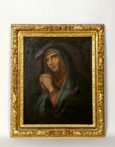 tableau : La Vierge en prière