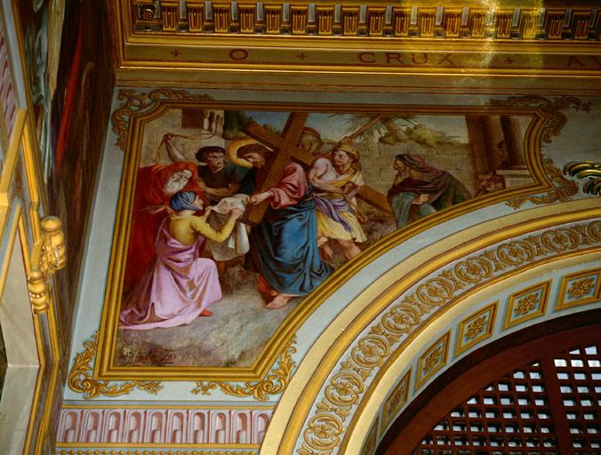 peinture monumentale : Montée au Calvaire