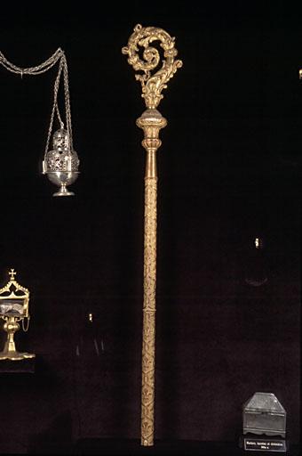 crosse pastorale de l'abbé de Durfort-Deyme