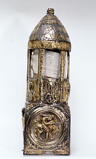 reliquaire de Bégon, dit 'Lanterne de Saint Vincent'