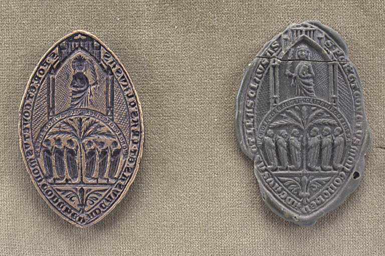 matrice de sceau ecclésiastique et son sceau