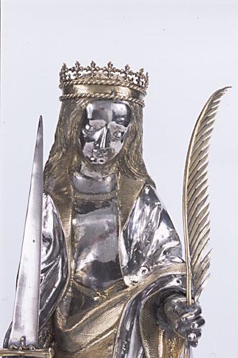 statuette-reliquaire : Sainte Foy
