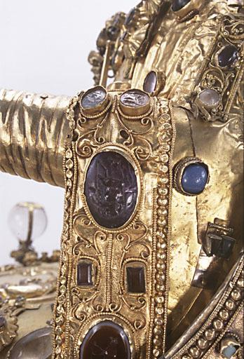 statue-reliquaire dite Majesté de sainte Foy