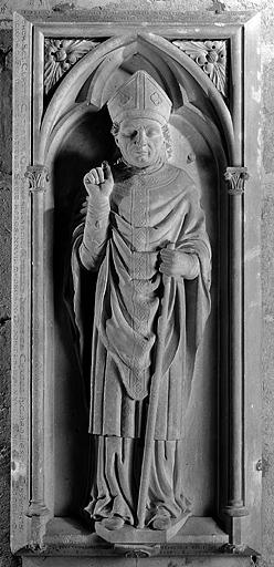 dalle funéraire (n° 3) de Monseigneur Antoine-Jacques de Chamon