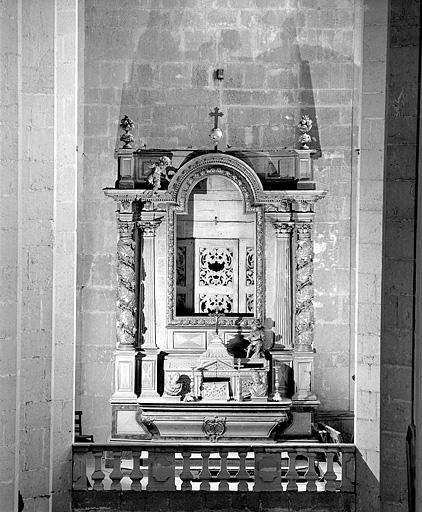 autel, retable de Saint-Oyend
