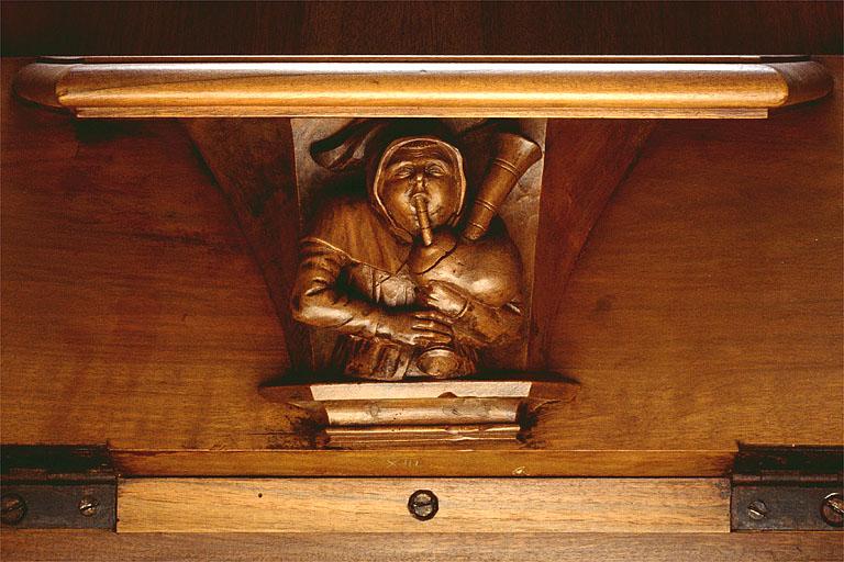 ensemble des 37 bas-reliefs des miséricordes des stalles nord