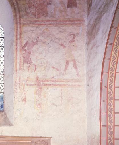 peinture monumentale : Passion du Christ