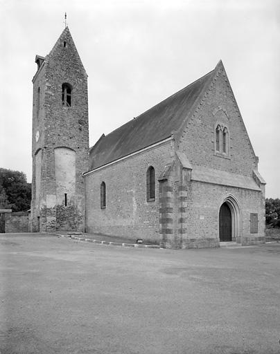 prieuré ; église paroissiale Saint-Martin