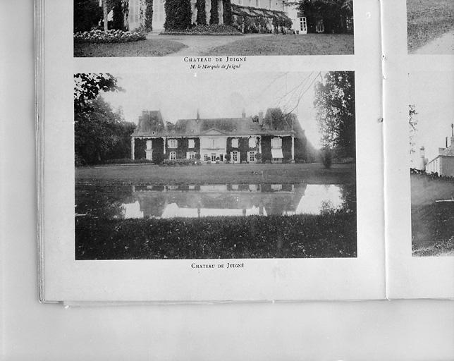 château dit château de Juigné, actuellement maison