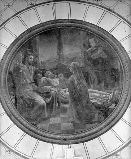 peinture monumentale : Mort de saint Joseph